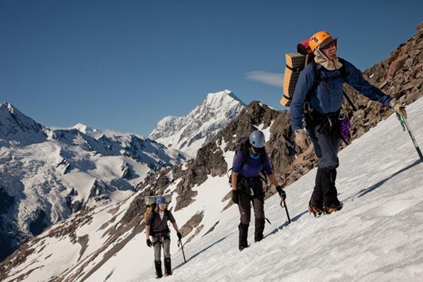 – αναρρίχηση: πάρτε τα βουνά